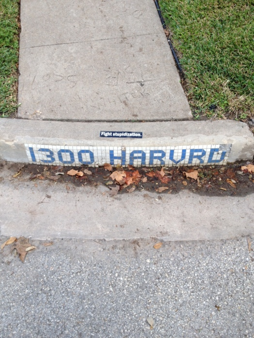 Harvard Street, Houston